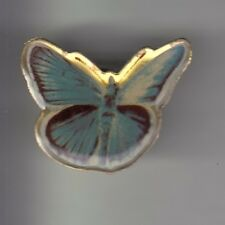 RARE PINS PIN'S .. ANIMAL PAPILLON BUTTERFLY MORPHO BLEU BLUE EPOXY ~CY