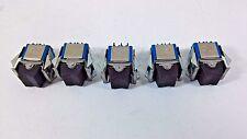 5 Pcs APEM Switch ON/OFF Mini Rocker Circuit 3 Pins Solder 7539 APEM - APR D3