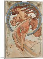 ARTCANVAS Danse 1898 Canvas Art Print by Alphonse Mucha