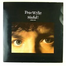 """12"""" Maxi - Pete Wylie - Sinful! (Tribal Mix) - A4363 - washed & cleaned"""