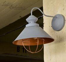Industriale luce lampada da parete Loft E27 GRIGIO RAME Retrò