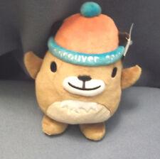 "Vancouver 2010 Winter Olympics Canada Mascot Marmot Mukmuk 9.5"" Plush - NWT"