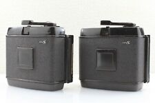 """EXC++++ 2 LOT"" MAMIYA RB67 PRO S 120 Roll Film back Holder 2 LOT From Japan"