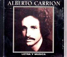 """ALBERTO CARRION - """"LETRA Y MUSICA"""" - CD"""