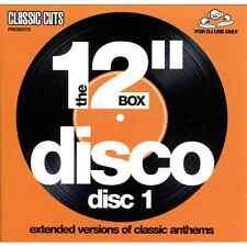 "Mastermix Classic Cuts Presents The 12"" 4 x CD Box Set - Disco Extended Versions"