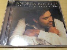 ANDREA BOCELLI - ARIA: THE OPERA ALBUM CD (GC-VGC) AMOR TI VIETA, POUR MON AME