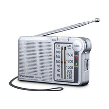 Panasonic Pocket FM/AM Radio With Digital Tuner RF-P150D