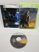 Halo 3 (Microsoft Xbox 360, 2009) Complete w/ Poster, Tested