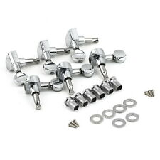 6 Stk. Stahl Gitarre Mechaniken Tuner Kopf Heads Silber YL
