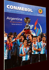 ARGENTINA Sub-17 CHAMPION 2013 CONMEBOL Mag # 137 LIBERTADORES CUP Preliminaries