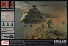Mil Mi-2 Army Helicopter in Russia, Korea (1/48 model kit, Aeroplast 90036)