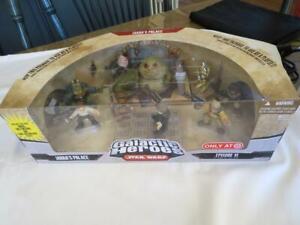 NEW Hasbro Star Wars Galactic Heroes JABBA'S PALACE Bib Fortuna Luke Skywalker