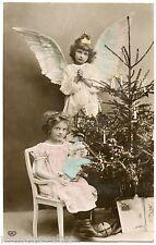 Sapin de Noël . Jouet ancien, Poupée . Christmas tree, old toy, doll