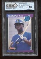Ken Griffey Jr. RC 1989 Donruss #33 Mariners HOF Rookie GEM MINT 10