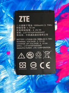 New for ZTE Telstra Easy Call 3 Good Battery Li3710T42P3h553457 1000mAh