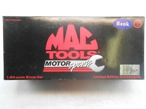 Mac Tool Motor Sports scale model bank 1997 Dale Jarrett Thunderbird by Action