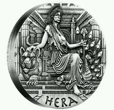 Tuvalu 2015, Goddesses Of Olympus, Hera, 2oz Silver, Australia