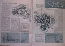 1948 Aston Martin Original Autocar magazine Article