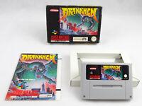 Drakkhen SNES Super Nintendo Boxed PAL