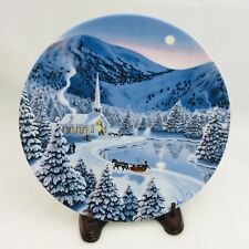 Collector Plate Silent Night Spirit of Christmas 1990 Ws George Jean Sias