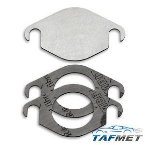 104. EGR valve blanking plate for Nissan Navara Pathfinder 2.5 D40 YD25DDTI EUR5