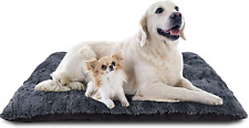 New listing Furtime Dog Bed Crate Pad Ultra Soft Washable Kennel Bed 24/30/36/42 Inch Crate