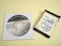 "Dell Latitude D830 160GB 2.5"" SATA Hard Drive 7200rpm with Caddy and Driver DVD"
