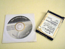 """Dell Latitude D830 320GB 2.5"""" SATA Hard Drive 7200rpm with Caddy and Driver DVD"""