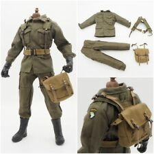"1/6 Scale Leather Jacket Pants Shirt Soldier Accessories For 12"" Action Figure"