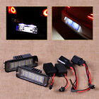 2pcs for VW Golf Eos Passat White Error Free 18 LED License Plate Light Lamp Kit