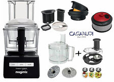 Magimix Compact 3200 XL Nero,Robot da Cucina + 3 OPTIONAL INCLUSI+Salad Expert