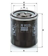 MANN-FILTER Ölfilter W 6025 für ESPACE CLIO GRAND FLUENCE RENAULT M 20 X 1.5 4 3
