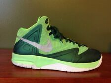 NIKE Kid's Youth Air Max Shoes Premiere Basketball Green Athletic Sneakers sz 7Y