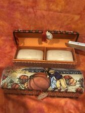 Mary Engelbreit Mother's Love Round Trinket Box Luxury Jasmine Soap 24 Oz 4 Soap