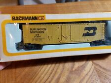 HO TRAIN CAR KIT BACHMANN BURLINGTON NORTHERN BN PLUG 26534 Yellow black