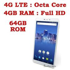 "NEW TECA LTE650 4G OCTA CORE 4GB-RAM 64GB 6.5"" FHD ANDROID 6.0 TABLET PHONE b"