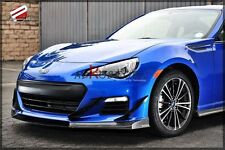 FRP FIBER GLASS JDM FRONT LIP SPLITTER (3PCS) FOR SUBARU BRZ
