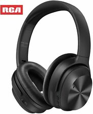 Active Noise Canceling Headphones, RCA Bluetooth 5.0 Headphones Over Ear Wireles