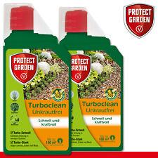 Protect Garden 2 x 1000 ML Turboclean Exempt de Mauvaises Herbes Concentré