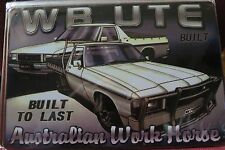 holden wb ute metal sign MAN CAVE vintage style car sign brand new