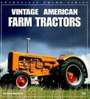 Vintage American Farm Tractors Paperback Andrew Morland