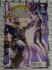 Infinity Countdown Champions (2018) Marvel - #2, Crain Thanos CVR, Zub/Laiso, NM