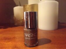 "NAILS INC NAIL POLISH ""WILLOW PLACE"" (GOLD GLITTER) 10ML BRAND NEW"