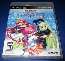 Arcana Heart 3: Love Max PlayStation 3 - PS3 - Factory Sealed!!   Free Shipping!