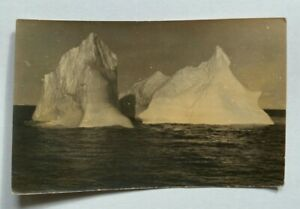 Original Real Vintage Photo Iceberg in Ocean USSR Russian Soviet Union СССР