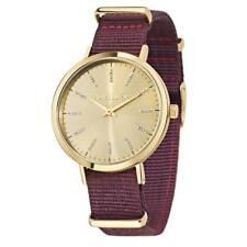 Reloj de Mujer MORELLATO VERSILIA R0151133502 de Tela Burdeos Dorado Swarovski