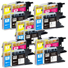 20 Pack Ink Jet Cartridges for LC75 Brother MFC-J280W MFC-J425W MFC-J430w