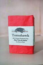 100% NATURAL HANDMADE SOAP!!  WILD SAGE CO!! TOMAHAWK SCENT!!