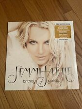 LAST ONE Britney Spears Femme Fatale LIMITED GOLD VINYL SEALED