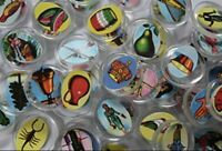 "CHIPS Authentic Mexican Loteria Bingo Board Game HARD Plastic 1"" Cards 54 Count"